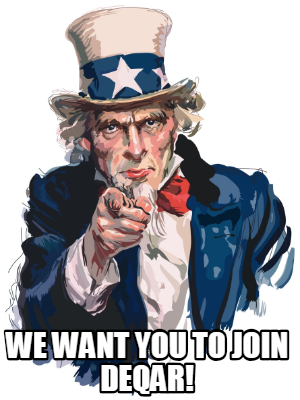 We want you to join DEQAR!